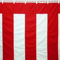 紅白幕 3間物 180×540cm