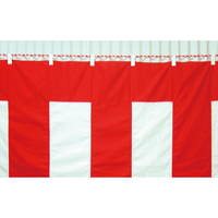 紅白幕 6間物 180×1080cm
