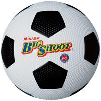 ゴムサッカーボール 3号 白/黒 F3