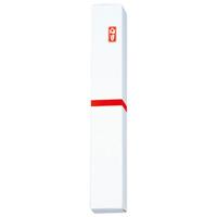 △ノベルティ用ペン1本箱 赤棒 10枚入