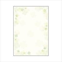 和柄用紙 和ごころ 10枚 4-1026 四つ葉