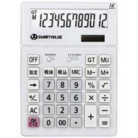 大型電卓 ホワイト K070J