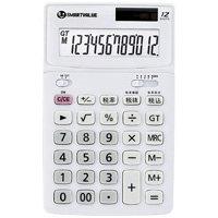 中型電卓 ホワイト K071J