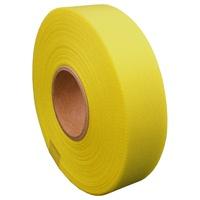 カラーリボン黄 12mm*25m 10個 B812J-YL10