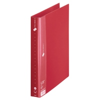 2リングファイルFC-101RF A4S 35mm 赤
