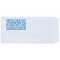 窓付封筒長3白ケント100枚テープ付 P029J-W