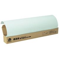 方眼模造紙プルタイプ50枚ブルー P152J-B
