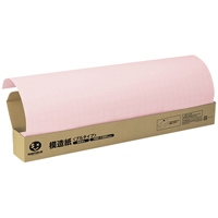方眼模造紙プルタイプ50枚ピンク P152J-P