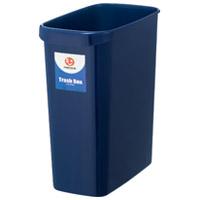 持ち手付きゴミ箱角型13L ブルー N155J-B