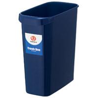 持ち手付きゴミ箱角型8L ブルー N154J-B