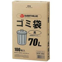 ゴミ袋LDD黒70L 100枚 N138J-70
