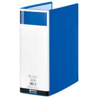パイプ式ファイル両開きSE青10冊D179J-10BL