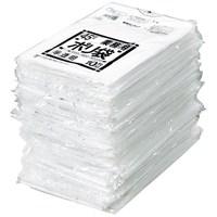 ポリゴミ袋 N-44 白半透明 45L 10枚 60組