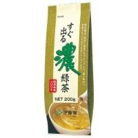すぐ出る濃緑茶200g