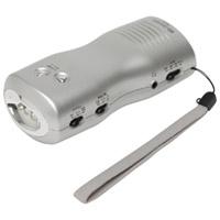 手回し充電ラジオライトJTL-23