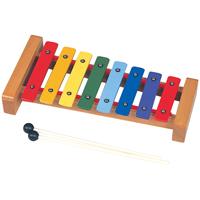 レインボーカラー鉄琴 CG-8C