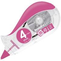 修正テープ微修正4mm SCPD-4NN