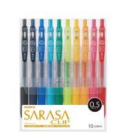 サラサクリップ0.5 10色セットA JJ15-10CA