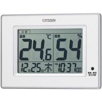 シチズンデジタル温湿度計 8RD200-A03 白