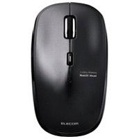 ワイヤレスLEDマウス ブラック M-BL21DBBK