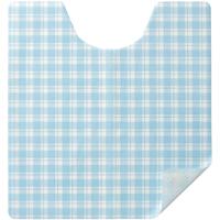 トイレ用消臭フロアシートFT002 20枚ブルー