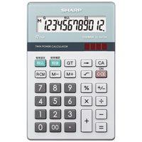 環境配慮電卓 ナイスサイズ EL-N412K