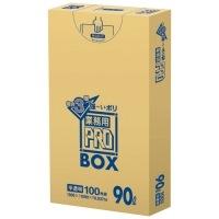 3層ゴミ袋業務用PRO 90L 半透明 PA93 100枚
