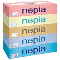 ネピアティシュ 150組×5箱