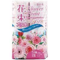 トイレットペーパー 花束桃 W 27.5m12巻