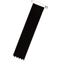リボン 徽章ビラ 黒 459-999