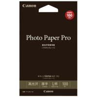 写真用紙 光沢プロ PT-201L100 L判 100枚