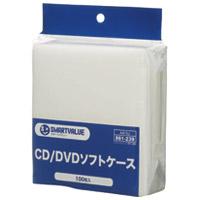 不織布CD・DVDケース 100枚パック A415J