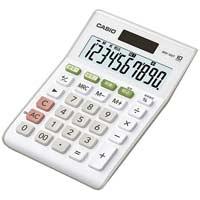 W税率ミニジャスト電卓 MW-100T-WE-N
