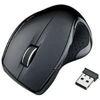 ワイヤレスレーザーマウス M-LS11DLBK 黒