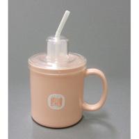 ストロー付マグカップ HS-N4 ピンク