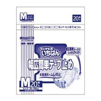 スーパーいちばん幅広簡単テープ止めM 4P