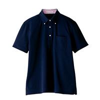 メンズポロシャツ FB5023M ネイビー L