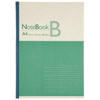 再生紙ノート A4 B罫10冊 P044J-10