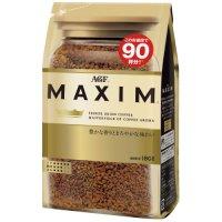 ※マキシムインスタントコーヒー袋180g×12