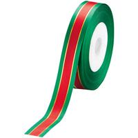 リボン イサベラ 赤/緑 18mm×25m