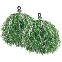 キラキラポンポン(2個組)緑 43-886
