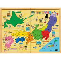 木製パズル日本地図 83405