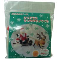 ふわふわビーズキットクリスマスツリリース