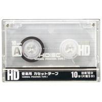 カセットテープ 10分×10本 HDAT10N10P2
