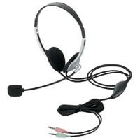 ヘッドセット両耳オーバーヘッド HS-HP22SV
