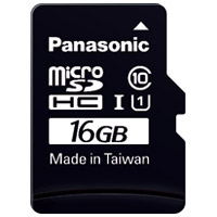 microSDHCカード 16GB RP-SMGA16GJK