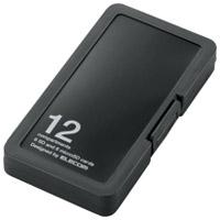 メモリーカードケースCMC-SDCPP12BK PP製