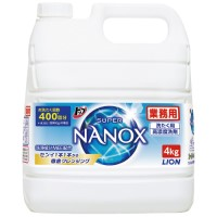 トップSUPER NANOX 業務用 4kg
