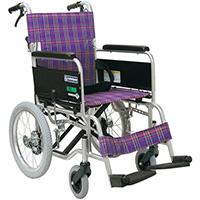 (非課税)車いすKA402SB-40 (A11:紫)