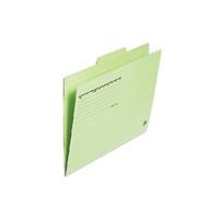 カットフォルダー 3山 FL-063IF A4 緑